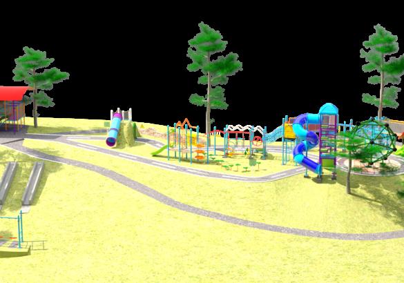 Diseño de Parques Infantiles