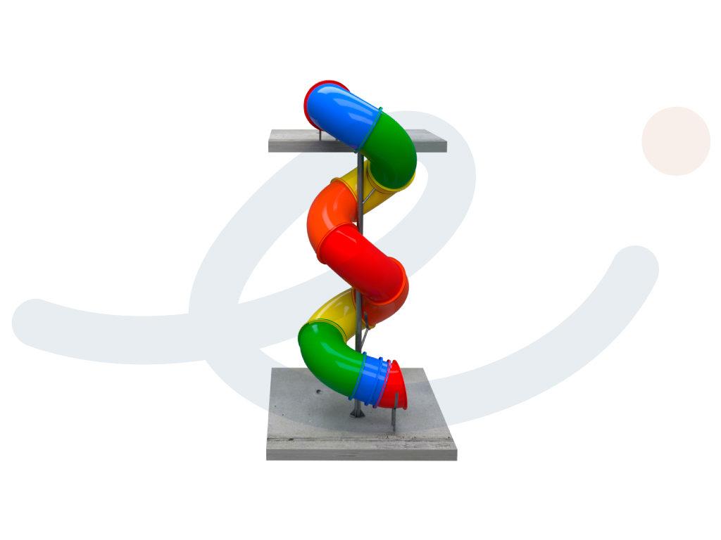 Tobogán Espiral Multicolor