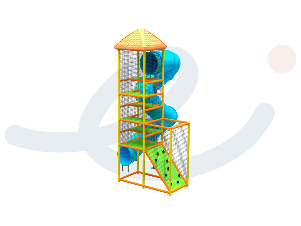 Torre y Tobogán espiral