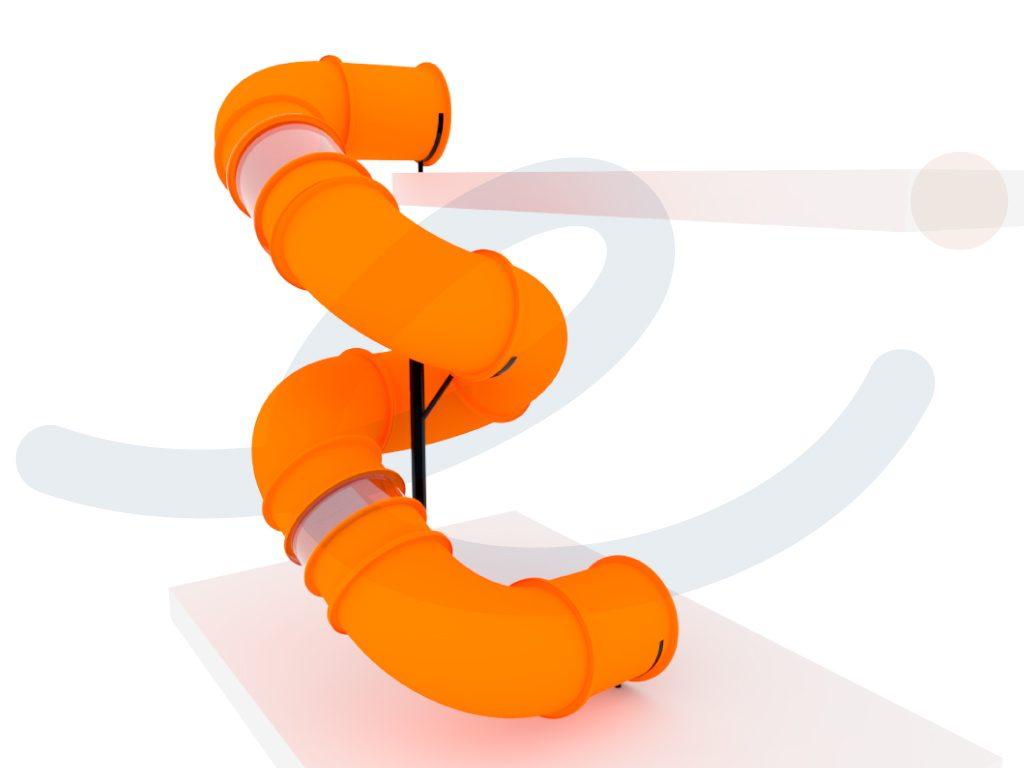 (Español) Tobogan espiral diagonal